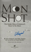 Autographs:Celebrities, Alan Shepard Signed Book: Moon Shot. ...