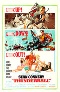 "Movie Posters:James Bond, Thunderball (United Artists, 1965). One Sheet (27"" X 41"") RobertMcGinnis and Frank McCarthy Artwork.. ..."