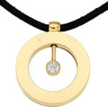 Estate Jewelry:Pendants and Lockets, Diamond, Gold, Pendant-Necklace, Roberto Coin. ...