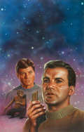 "Original Comic Art:Covers, Keith Birdsong Star Trek #51 ""Enemy Unseen"" UnpublishedPaperback Novel Cover Painting Original Art (Pocket Books,..."