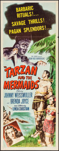 "Movie Posters:Adventure, Tarzan and the Mermaids (RKO, 1948). Insert (14"" X 36"").Adventure.. ..."