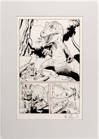 Mike Allred Madman Adventures #2 Story Page 16 Original Art (Tundra, 1993)