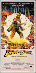 "Movie Posters:Adventure, Indiana Jones and the Temple of Doom (Paramount, 1984). AustralianDaybill (13.25"" X 26.75"") Style B. Adventure.. ..."