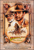 "Movie Posters:Action, Indiana Jones and the Last Crusade (Paramount, 1989). One Sheet (27"" X 40.25"") SS Advance. Action.. ..."