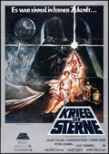 "Movie Posters:Science Fiction, Star Wars (20th Century Fox, 1977). German A1 (23.25"" X 33"").Science Fiction.. ..."