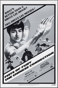 "Movie Posters:Action, Fists of Fury/The Chinese Connection Combo (Columbia, R-1980). OneSheet (27"" X 41""). Action.. ..."