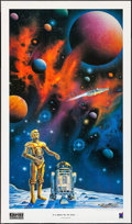 "Movie Posters:Science Fiction, The Empire Strikes Back (New Frontiers Publishing, 1995).Autographed and Numbered Limited Edition Print (20"" X 34.5"") ""Ina..."