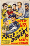 "Movie Posters:Comedy, Pride of the Bowery (Monogram, 1940). One Sheet (27"" X 41""). Comedy.. ..."
