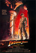 "Movie Posters:Adventure, Indiana Jones and the Temple of Doom (Paramount, 1984). One Sheet(27"" X 40"") Style A. Adventure.. ..."
