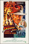 "Movie Posters:Adventure, Indiana Jones and the Temple of Doom (Paramount, 1984). One Sheet(27"" X 40""). Adventure.. ..."