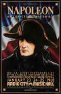 """Movie Posters:Foreign, Napoleon (Zoetrope, R-1981). One Sheet (24.5"""" X 38""""). Foreign.. ..."""