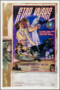 """Movie Posters:Science Fiction, Star Wars (20th Century Fox, 1978). Autographed One Sheet (27"""" X41"""") Style D. Science Fiction.. ..."""