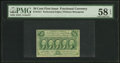 Fractional Currency:First Issue, Fr. 1311 50¢ First Issue PMG Choice About Unc 58 EPQ.. ...