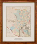 Miscellaneous:Maps, J. Eppinger & F.C. Baker. Map of Texas Compiled from SurveysRecorded in the General Land Office. 1851....