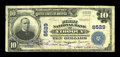 National Bank Notes:Wisconsin, Viroqua, WI - $10 1902 Plain Back Fr. 626 The First NB Ch. # 8529. ...
