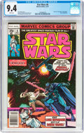 Bronze Age (1970-1979):Science Fiction, Star Wars #6 (Marvel, 1977) CGC NM 9.4 White pages....