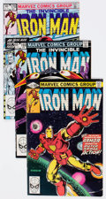 Modern Age (1980-Present):Superhero, Iron Man Group of 52 (Marvel, 1980-95) Condition: Average FN....(Total: 52 Comic Books)
