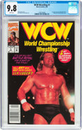 Modern Age (1980-Present):Miscellaneous, WCW Wrestling #1 (Marvel, 1992) CGC NM/MT 9.8 White pages....