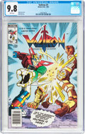 Modern Age (1980-Present):Science Fiction, Voltron #3 (Modern Publishing, 1985) CGC NM/MT 9.8 White pages....