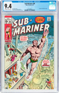 Bronze Age (1970-1979):Superhero, The Sub-Mariner #38 (Marvel, 1971) CGC NM 9.4 Off-white to white pages....