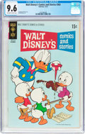 Bronze Age (1970-1979):Cartoon Character, Walt Disney's Comics and Stories #363 (Gold Key, 1970) CGC NM+ 9.6Off-white to white pages....