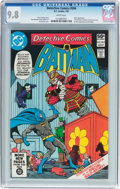 Modern Age (1980-Present):Superhero, Detective Comics #504 (DC, 1981) CGC NM/MT 9.8 White pages....