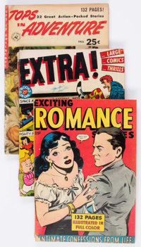 Comic Books - Assorted Golden Age Giant-Size Comics Group of 15 (Various Publishers, 1940s-50s) Condition: Average GD...