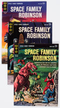 Silver Age (1956-1969):Science Fiction, Space Family Robinson Group of 18 (Gold Key, 1963-78) Condition:Average VF.... (Total: 18 Comic Books)