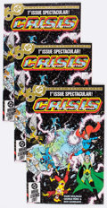 Modern Age (1980-Present):Superhero, Crisis on Infinite Earths #1 Box Lot (DC, 1985) Condition: AverageNM-....