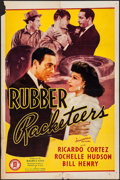 """Movie Posters:Crime, Rubber Racketeers (Monogram, 1942). One Sheet (27"""" X 41""""). Crime....."""