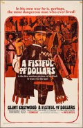 "Movie Posters:Western, A Fistful of Dollars (United Artists, 1967). One Sheet (27"" X 41"").Western.. ..."