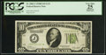 Fr. 2002-J* $10 1928B Light Green Seal Federal Reserve Note. PCGS Apparent Very Fine 25