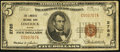 National Bank Notes:Maine, Limerick, ME - $5 1929 Ty. 1 The Limerick NB Ch. # 2785. ...