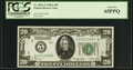 Small Size:Federal Reserve Notes, Fr. 2051-E $20 1928A Federal Reserve Note. PCGS Gem New 65PPQ.. ...