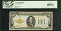 Small Size:Gold Certificates, Fr. 2405 $100 1928 Gold Certificate. PCGS About New 53PPQ.. ...