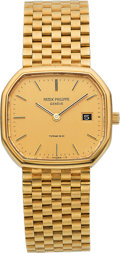 Estate Jewelry:Watches, Patek Philippe Gentleman's Gold Watch, retailed by Tiffany &Co.. ...