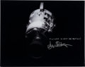 Autographs:Celebrities, Gene Kranz Signed Large Apollo 13 Damaged Service Module Photo withQuote....