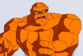 Animation Art:Production Cel, The Fantastic Four/Iron Man The Thing and MandarinProduction Cel & Animation Drawing Group of 4 (Marvel F...(Total: 4 )