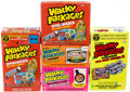 "Memorabilia:Trading Cards, Wacky Packages Original Series Stickers and ""All New Series"" (ANS1,ANS2, ANS3, and ANS5) Factory Sealed Boxes Small Box Lot (..."