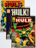 Magazines:Superhero, Hulk Related Magazine Group of 28 (Marvel, 1977-81) Condition:Average FN.... (Total: 28 Comic Books)