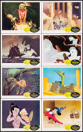 "Movie Posters:Animation, Fantasia (Buena Vista, R-1963). Lobby Card Set of 8 (11"" X 14"").Animation.. ... (Total: 8 Items)"