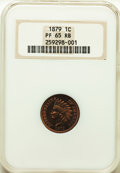 Proof Indian Cents: , 1879 1C PR65 Red and Brown NGC. NGC Census: (78/34). PCGS Population: (100/52). CDN: $525 Whsle. Bid for problem-free NGC/P...