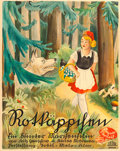 """Movie Posters:Foreign, Little Red Riding Hood and the Wolf (Tobis-Melofilm, 1937). German Poster (31.5"""" X 39.5"""").. ..."""