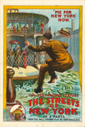 "Movie Posters:Drama, The Streets of New York (Pilot, 1913). One Sheet (28"" X 42"").. ..."