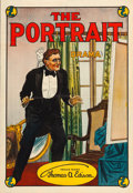 "Movie Posters:Drama, The Portrait (Thomas A. Edison, Inc., 1913). One Sheet (27.5"" X40"").. ..."