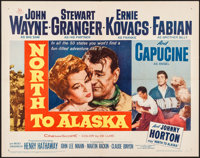 "North to Alaska (20th Century Fox, 1960). Half Sheet (22"" X 28""). Western"