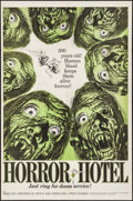 "Movie Posters:Horror, Horror Hotel (Trans Lux, 1962). One Sheet (27"" X 41""). Horror.. ..."