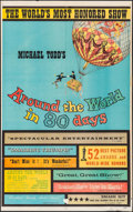 """Movie Posters:Adventure, Around the World in 80 Days (United Artists, 1956). Trimmed OneSheet (25.5"""" X 41""""). Adventure.. ..."""