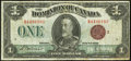 Canadian Currency: , Canada DC-25i $1 1923.. ...