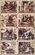 "Movie Posters:Western, Deadwood Dick (Columbia, 1940). Lobby Card Sets of 4 (2 Sets) (11"" X 14"") Chapter 5 -- ""Win, Lose, or Draw"" & Chapter 11 -- ... (Total: 8 Items)"